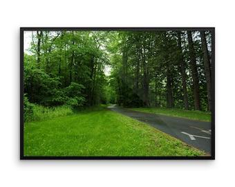 Framed Bike Path 2