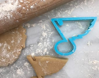 St Louis Blues Inspired Cookie Cutter