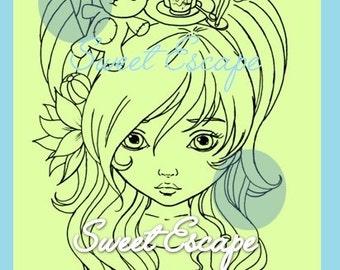 Alice Digital Stamp