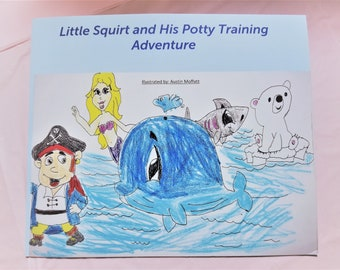 Little Squirt and His Potty Training Adventure - Poop 'n Pull
