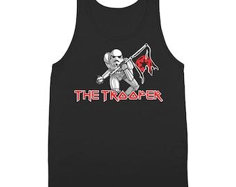 The Storm Trooper Maiden Funny Star Wars Rock 80S Costume Jedi Tank Top DT1212
