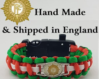 The Irish Army Paracord Bracelet Wristband Great Gift
