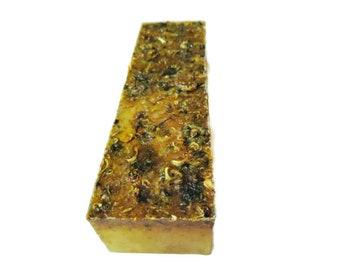3.5 LB Soap Loaf, Honeysuckle Calendula Soap Loaf, Vegan Handmade Soap, Wholesale Soap Loaves, Christmas Gift, Christmas Present