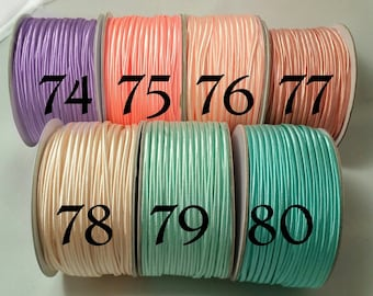 3 mm nylon SOUTACHE CORD Soutache BRAID China braid soutache trim china 3 mm Chinese soutache braid Chinese soutache