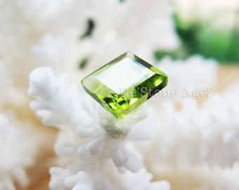 Olive Green Peridot - 1.26 Carats
