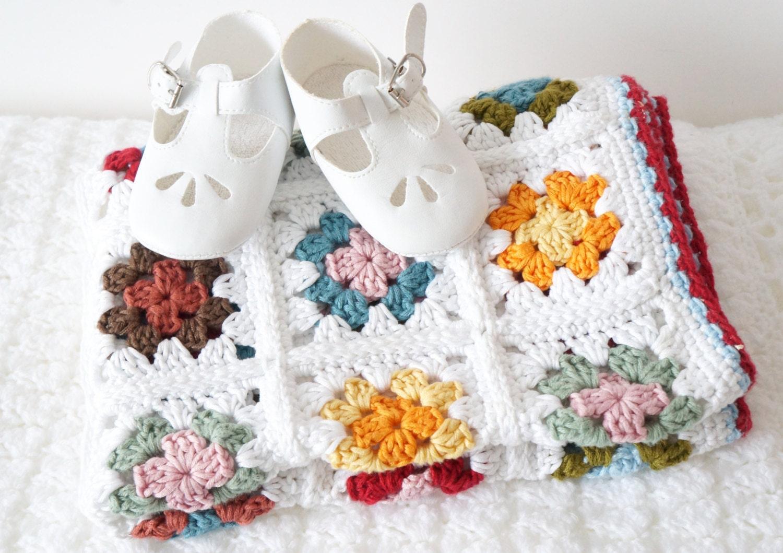 Blanket Crochet Pattern Easy to Make Beginner Crochet