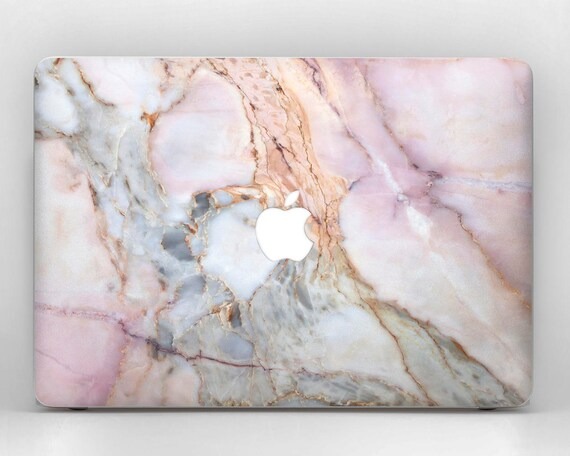 Macbook Marble Case Pink Gold Mac 12 13 15 11 In Pro Retina