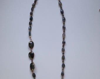 Faceted Labradorite Necklace