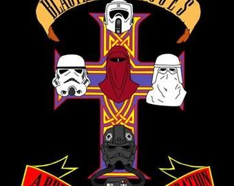 """Blasters N' Roses Print - Star Wars 11"""" x 17"""""""