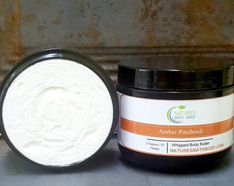 Amber Patchouli Whipped Body Butter