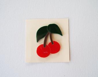 96 COE Glass Precut Cherries