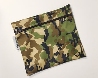 XL Camouflage Reusable Baggie