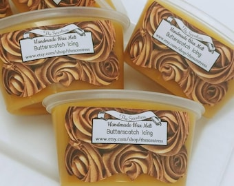 Butterscotch Icing Scented Wax Melt - Highly Scented Wax Melt - Candle Melt Cup - Wax Shot - Wax Tart