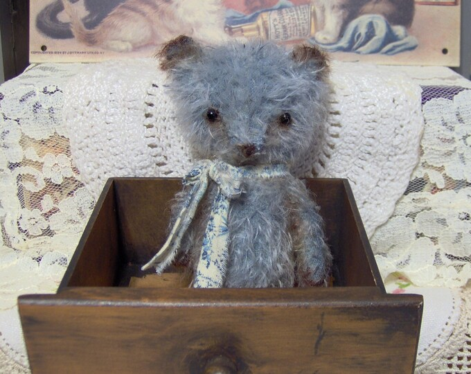 Bear Pattern Primitive Mini Mohair Style  Sewing digital E File Teddy