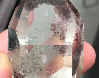Lodolite Crystal point it386