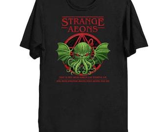Strange Aeons - Cthulhu Shirt HP Lovecraft T-Shirt Cthulhu Tee Call of Cthulhu Shirt