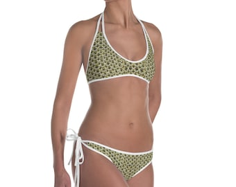 Gold Knight's Chainmail Fantasy Medieval Armor Bikini Swimsuit