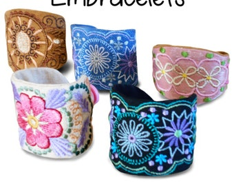 Embracelets Machine Embroidery Designs/ Patterns Collection