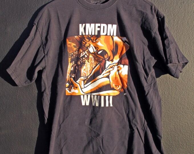 KMFDM WWIII vintage Tshirt