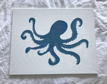 Octopus Painting 16x20
