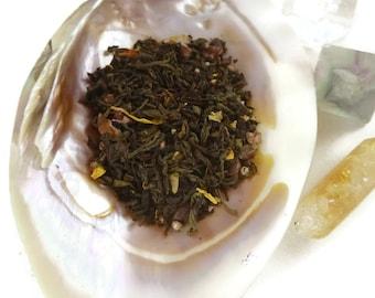 Tea Sample -  Lick Me - black tea - Orange and Chocolate - loose leaf tea