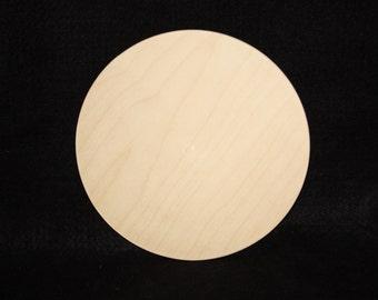 "6"" Wood Circle Cutout, Wooden Circle Cutout,Wood Circle Cut Out,Small Wood Circle,Unfinished Small Wood Circle,Small Wooden Circle Disc"