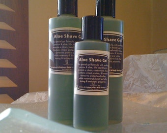 2oz Mens Aloe Shaving Gel, Lotions and Potions