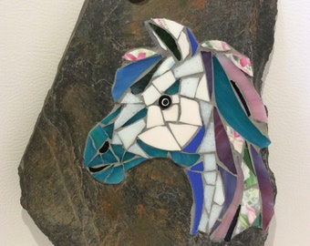 Pony Mosaic Plaque