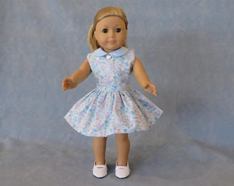 "Easter Spring 18"" Doll Dress"