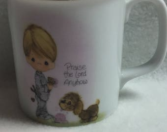 Precious Moments 'Praise the Lord Anyhow' Mug (#009)