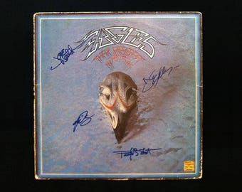 "The Eagles ""Their Greatest Hits"" Hand Signed Vinyl Record Sleeve"