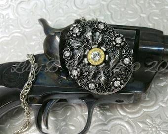 Elitha Bullet Jewelry Bullet Necklace 9mm Bullet Bling Locket