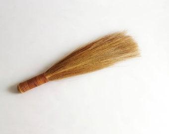 Vintage Whisk Brush Wrapped Handled Long Brush
