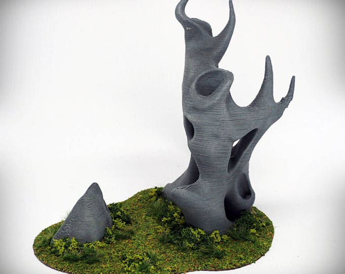 "Wargame Terrain -  Diablo (""Ghost Stones"") – UNPAINTED kit - Miniature Wargaming & RPG terrain - 6 inches (large version) / 5 inches (small)"
