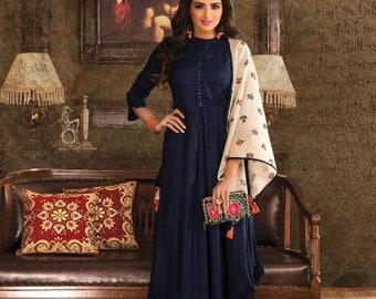 Indian  maxi dress with duppta