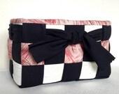 Woven Fabric Basket, Blac...