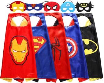 Super hero cape and felt mask