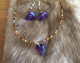 Old Souls Collection - Featuring Gemstones - Amethyst