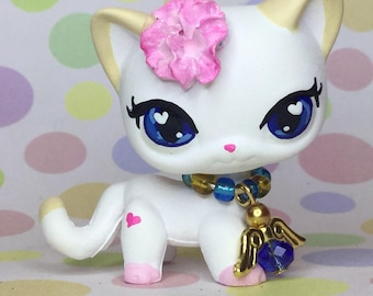 Littlest Pet Shop, LPS Cute, Short Hair, KITTY Cat Ooak Custom, Nice!