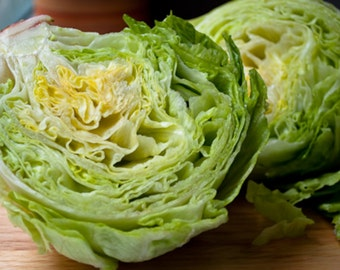 1,000+ Iceberg Lettuce Seeds- Heirloom