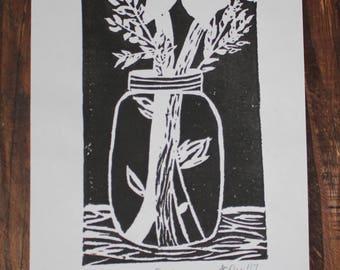 Mason Jar Print 3