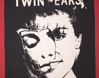 Twin Peaks Cloth Punk Patch