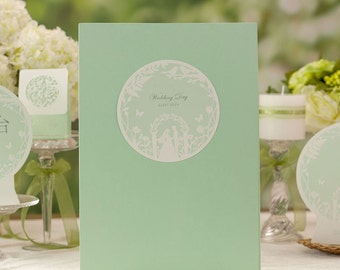 Wedding Guest Signature Book/Album with Hard Cover