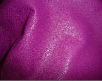 "Leather 8""x10"" DIVINE Dark MAGENTA Purple soft top grain Cowhide 2-2.5oz / .8-1mm full hides available PeggySueAlso™ E2885-25"