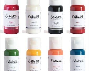 Sweet Sticks Edible Art Decorative Paint 15ml - range of colours