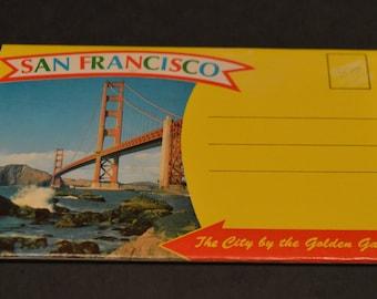 Vintage 1960's San Francisco Postcard Set