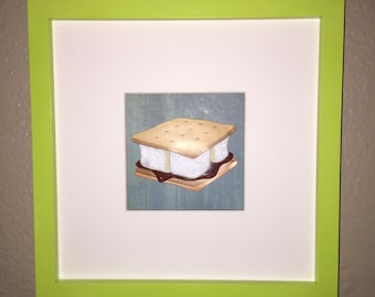 S'more Camping Picture Frame