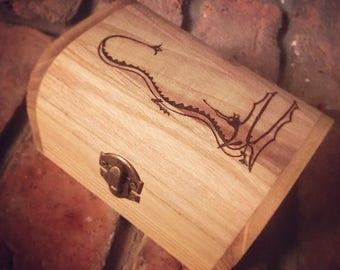 La boîte de bibelot Hobbit «Smaug»