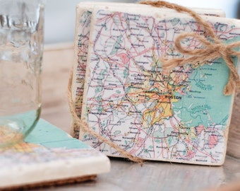 Custom* City Map Coasters / Bulk pricing available