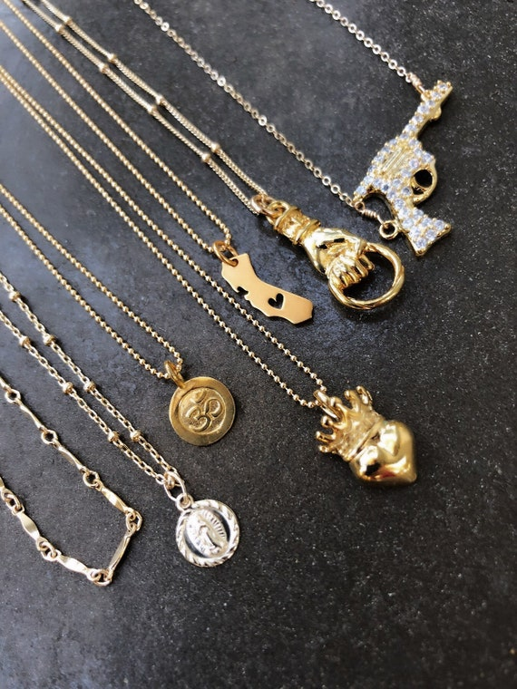Charm necklaces, charms,boho jewelry, gifts for her